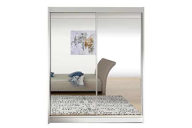 VITO Garderob 58x150 cm Vit - Möbler & Inredning - Förvaring - Garderober