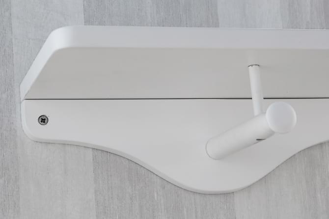 PENTONE Hatthylla 40 Liten Vit - Möbler & Inredning - Förvaring - Hallmöbler