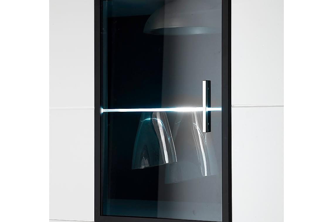 CANALES LED-belysning för Glasshyllplan A 2-pack Vit
