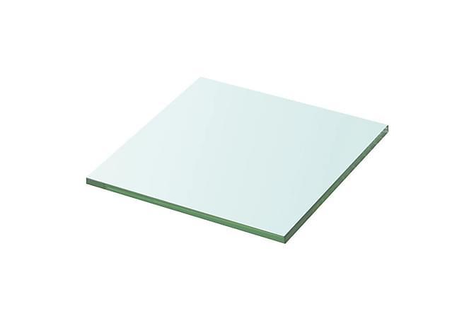 Hyllplan glas genomskinlig 20x20 cm - Inomhus - Förvaring - Hyllor