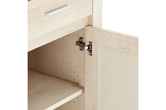NETRO Skänk 183 4 Dörrar Ek/Vit - Inomhus - Förvaring - Sideboards