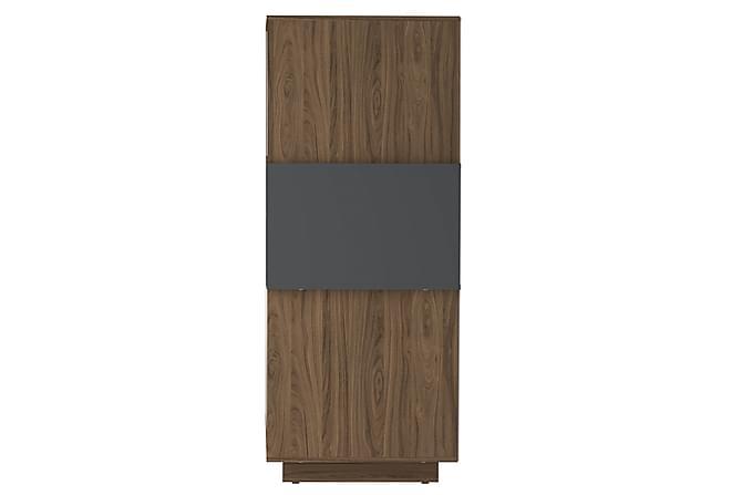 ROSTER Sideboard 114 Valnöt/Antracit - Möbler & Inredning - Förvaring - Sideboards