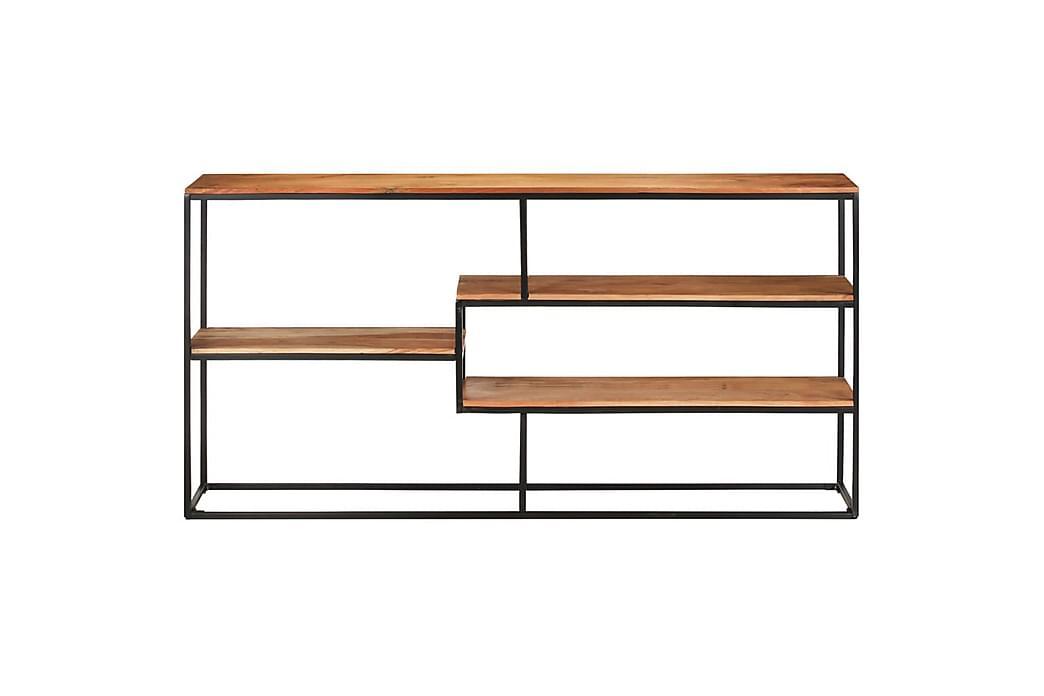 Skänk 150x30x75 cm massivt akaciaträ - Brun - Möbler & Inredning - Förvaring - Sideboards