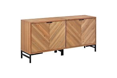 Skänk 150x35x72 cm massivt trä