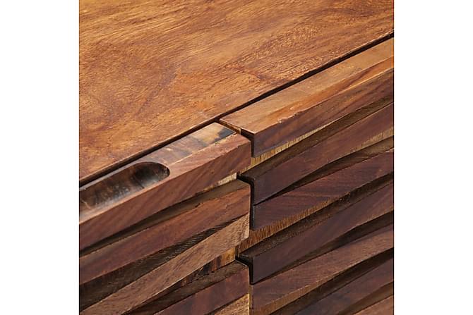Skänk 160x40x75 cm massivt shesamträ - Brun - Möbler & Inredning - Förvaring - Sideboards