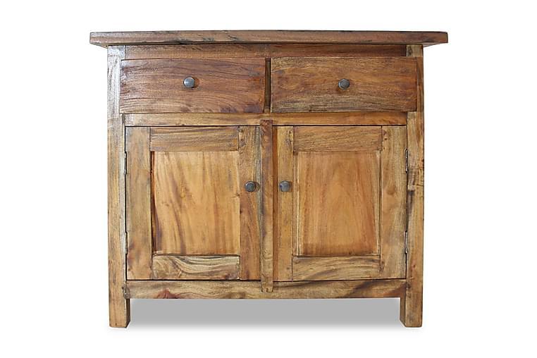 Skänk i massivt återvunnet trä 75x30x65 cm - Brun - Möbler & Inredning - Förvaring - Sideboards
