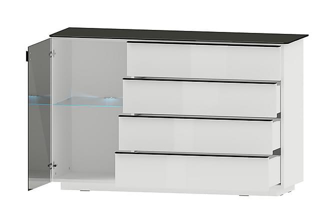 Togo Skänk 138x44x87 cm - Svart - Inomhus - Förvaring - Sideboards