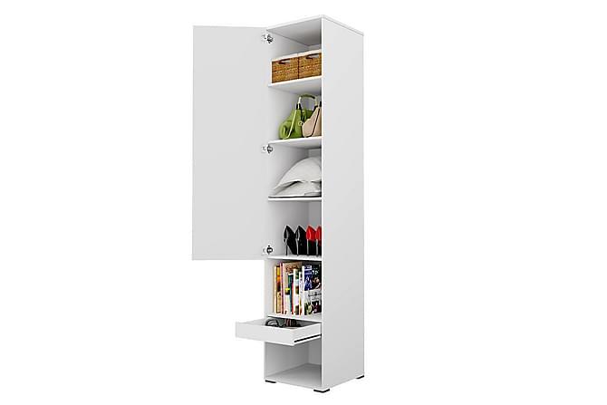 CONCEPT Pro Förvaringsskåp 45x46x217 cm - Beige - Möbler & Inredning - Förvaring - Skåp