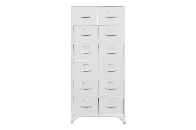MERIDE Förvaringsskåp 50 Vit - Möbler & Inredning - Förvaring - Skåp