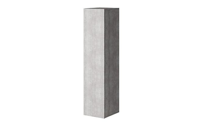 Vento Skåp 30x37x134 cm - Grå - Inomhus - Förvaring - Skåp
