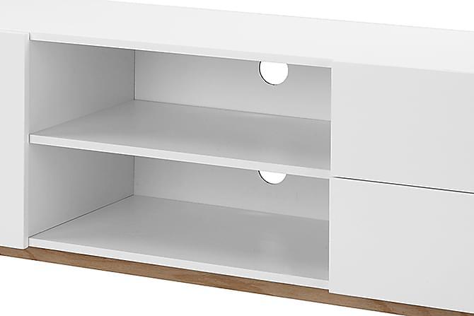bergsund tv b nk 160 vit tv b nkar f rvaring inomhus. Black Bedroom Furniture Sets. Home Design Ideas