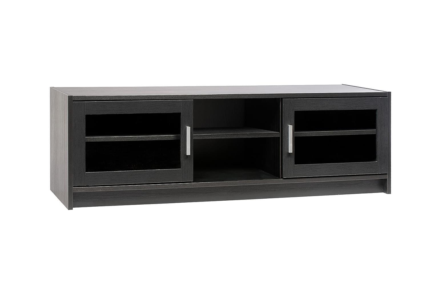 Black BLACK TV-Bänk 140 Svart -