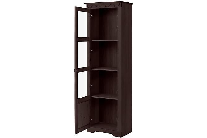 LAWSON Vitrinskåp 60x180 Svart - Möbler & Inredning - Förvaring - Vitrinskåp