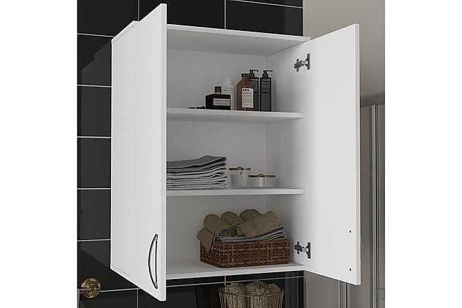 DANTAE Badrumsskåp 70 cm Vit - Möbler & Inredning - Förvaring
