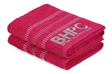 BEVERLY HILLS POLO CLUB Handduk 50x90 2-pack Rosa