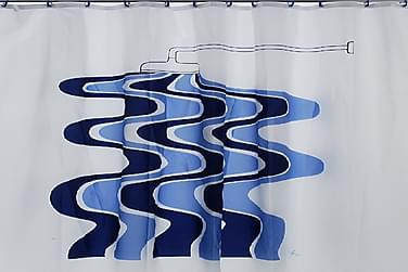 ETOL MATCH Duschdraperi 180x200 Stream