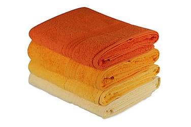HOBBY Badhandduk 70x140 2-pack Gul/Orange