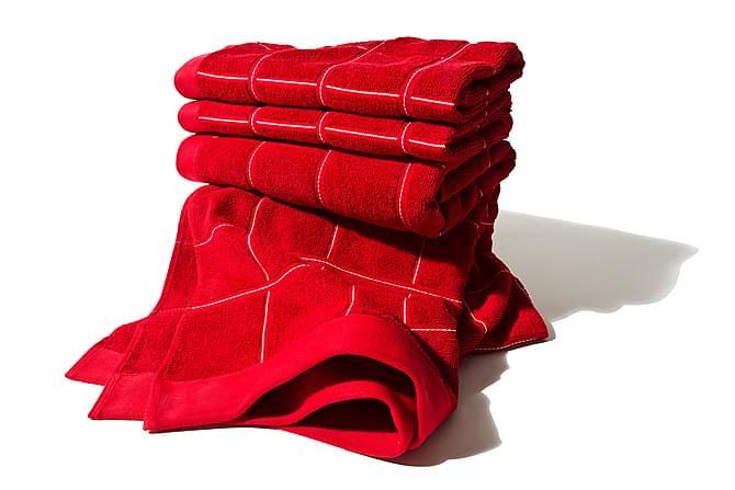 LORD NELSON VICTORY Frotté Handduk 70x50 Röd - Möbler & Inredning - Inredning - Badrumstextilier