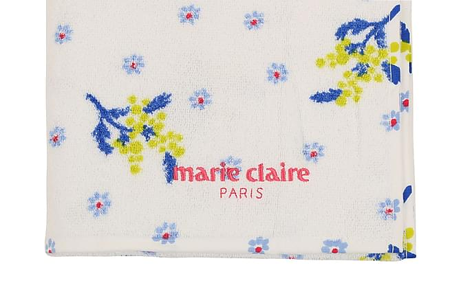 MARIE CLAIRE Badhandduk 80x150 Vit/Blå/Grön/Rosa - Möbler & Inredning - Inredning - Badrumstextilier