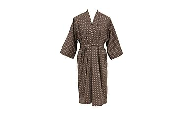 PIAZZA Kimono Satin Burgundy