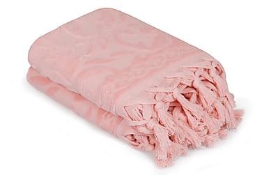 ŞAHESER Handduk 50x90 2-pack Rosa