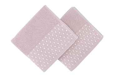 SOFT KISS Handduk 50x90 2-pack Rosa