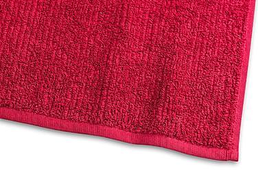 Stripe Frotté 30x50 cm Röd Borganäs