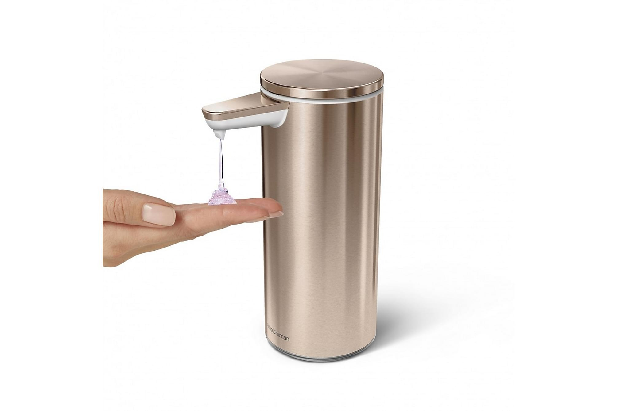 Automatisk tvålpump 266 ml, uppladdningsbar, Badrumstillbehör