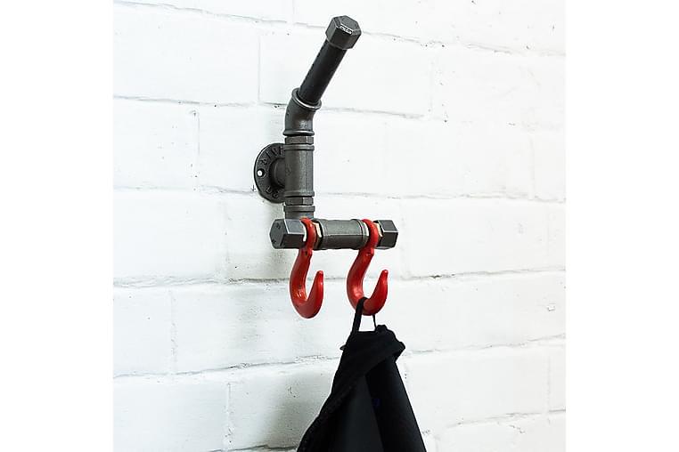 DONNAJO Toalettpappershållare 50 cm Svart - Möbler & Inredning - Inredning - Badrumstillbehör