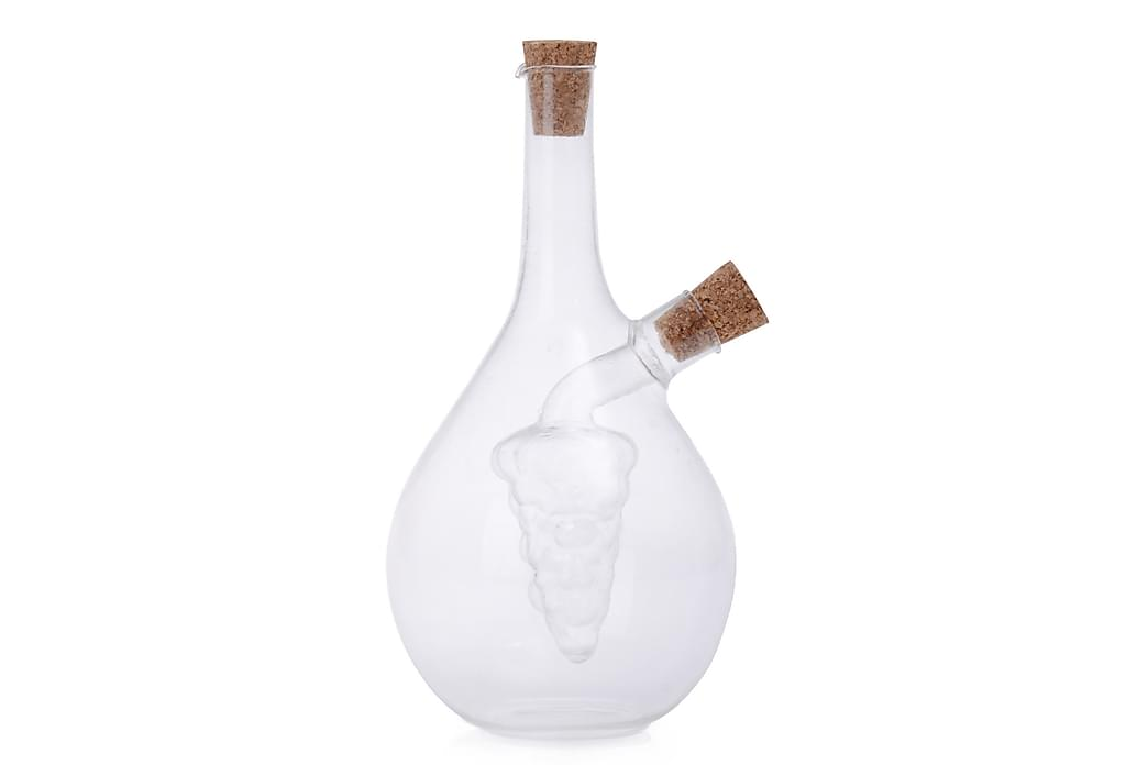 KOSOVA Olja- och vinägerflaska 6 Glas Transparent - Möbler & Inredning - Inredning - Badrumstillbehör
