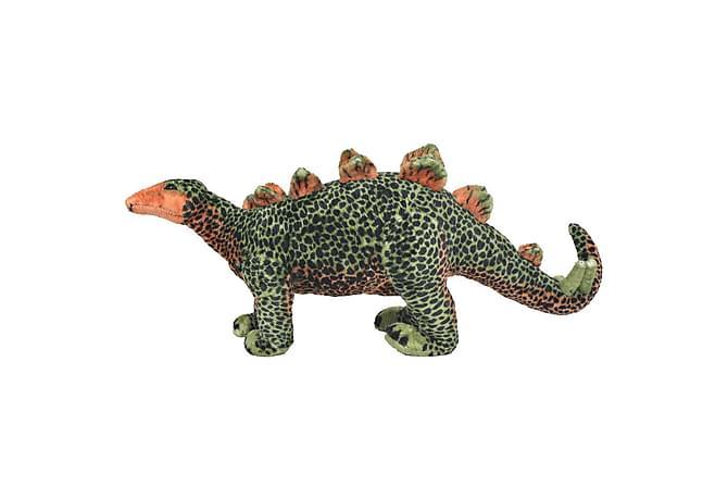 Stående leksak stegosaurus plysch grön och orange XXL - Inomhus - Inredning - Barninredning
