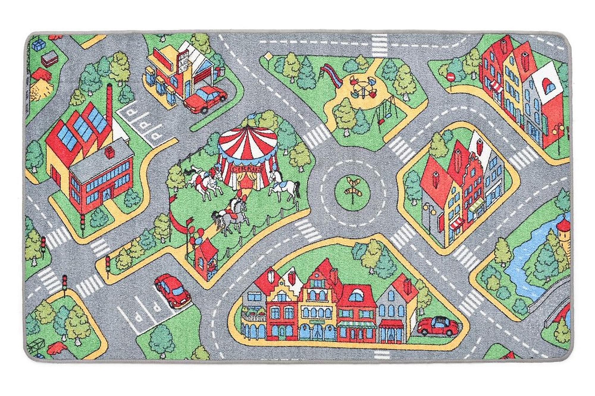 Chipper Lekmatta 120×160 Stadsväg