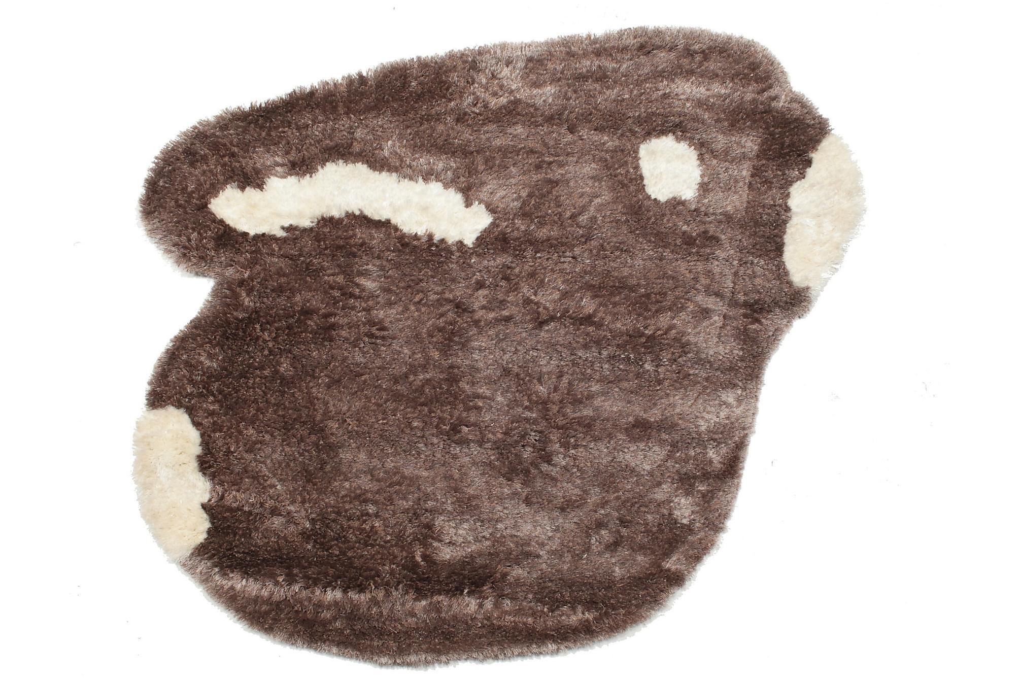 FUNNY-BUNNY Orientalisk Barnmatta 130×160 Brun