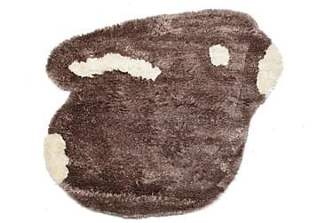 FUNNY-BUNNY Orientalisk Barnmatta 130x160 Brun