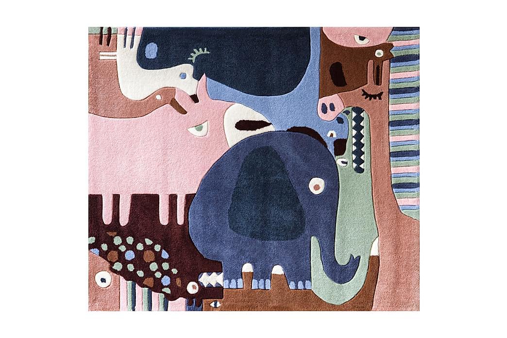 KID'S Matta Puzzle Animals Flerfärgad - Möbler & Inredning - Inredning - Barnmattor