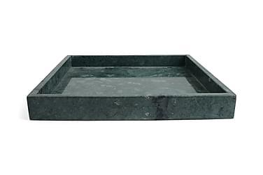 Bricka Kvadrat Marmor