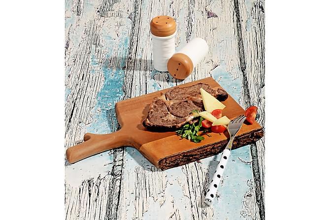KOSOVA Serveringsfat Akacia Brun - Möbler & Inredning - Inredning - Brickor