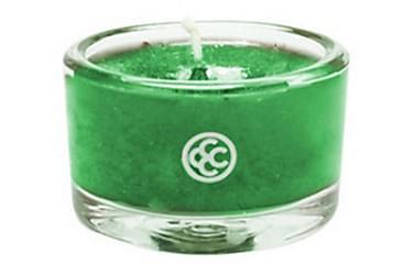 DOFTLJUS Glass Tealight Frankincense & Fir