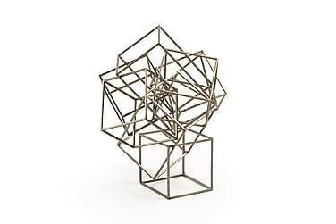 EDDIE Dekoration 26 cm Metall