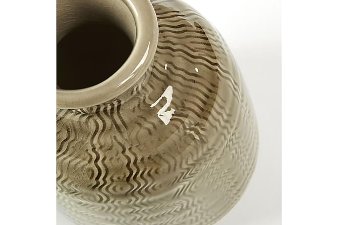 IVORY Vas 22 cm Brun - Inomhus - Inredning - Dekoration