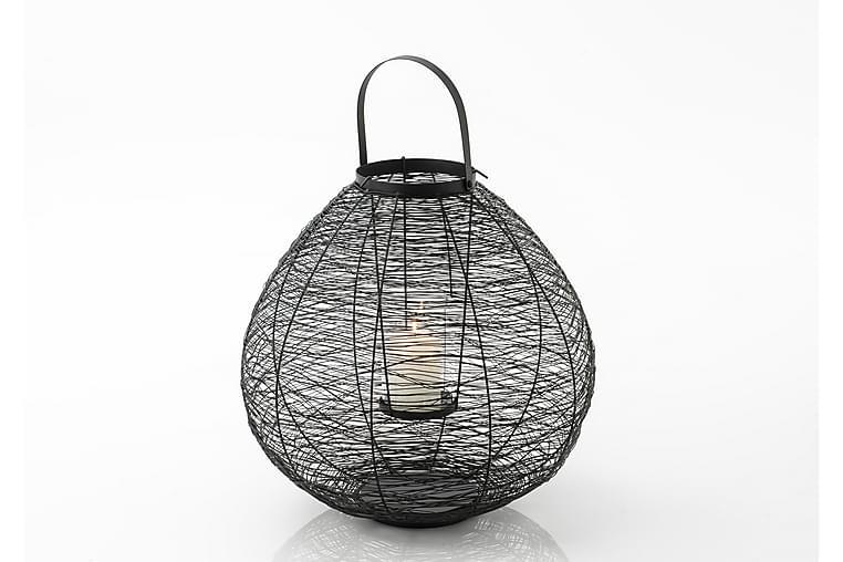 LABAUVE Ljuslykta 48x63 cm Svart - Möbler & Inredning - Inredning - Dekoration