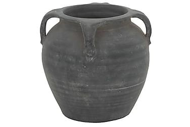 NYSO Kruka med Öra Grå/Keramik
