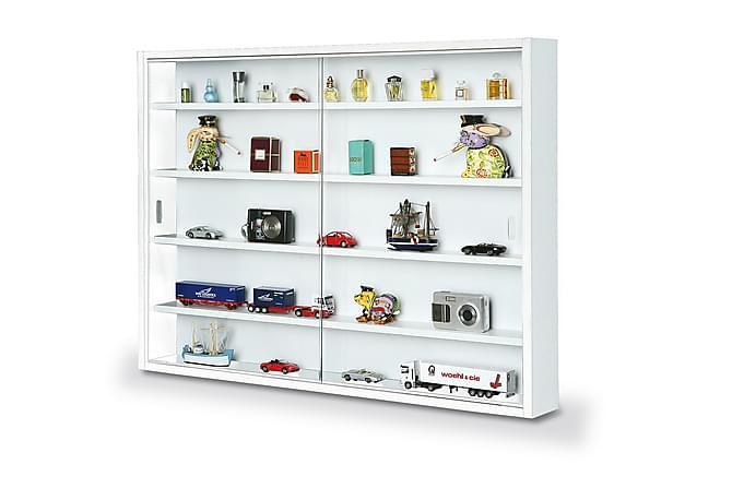 RALEENE Vitrinskåp 80 Vit/Glas - Möbler & Inredning - Inredning - Dekoration