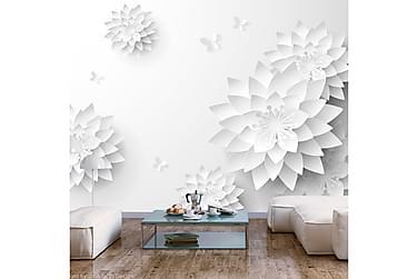 FOTOTAPET Oriental Flowers 100x70