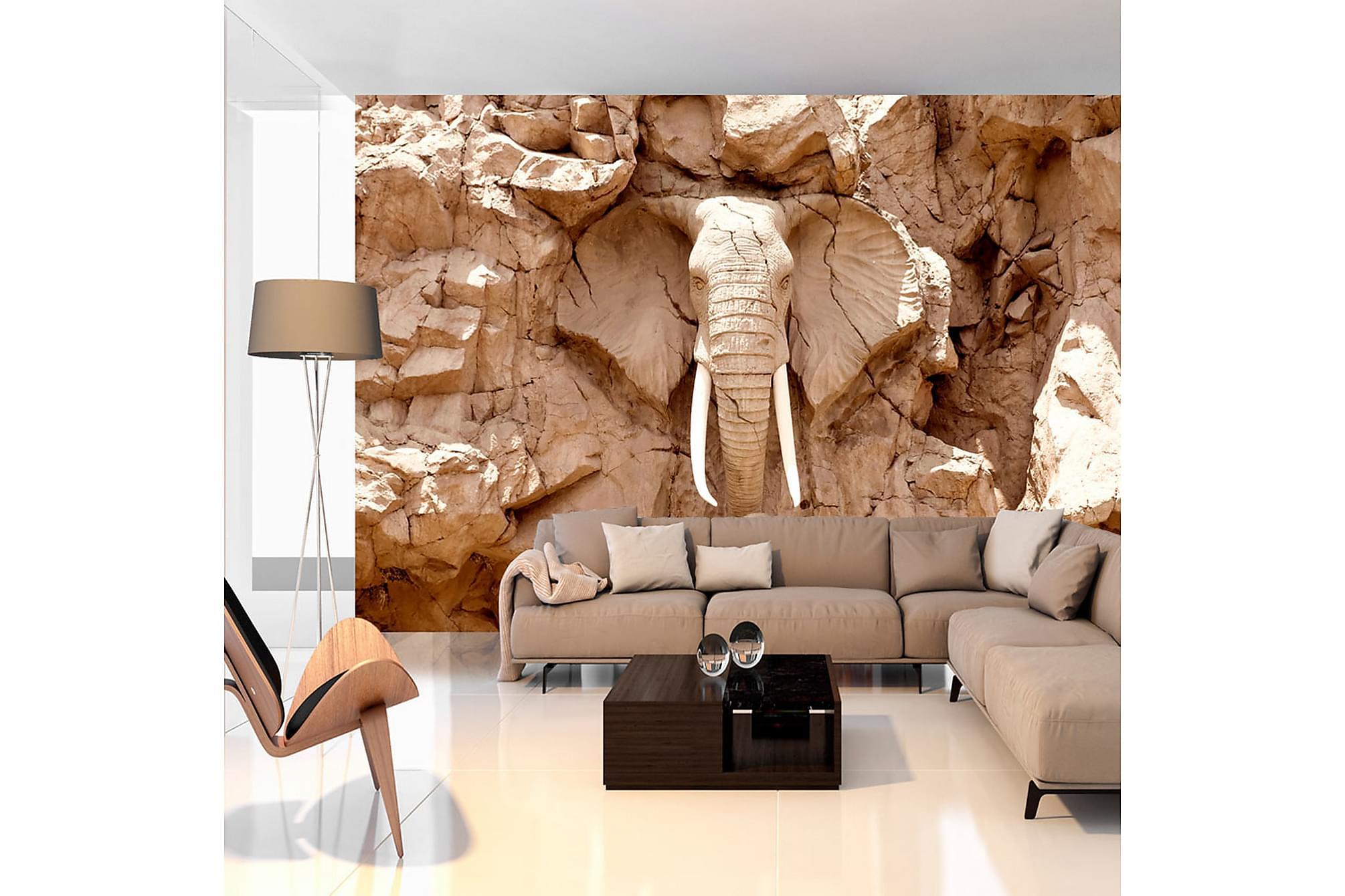 Fototapet stone elephant south africa 250x175