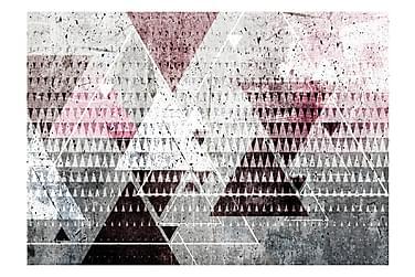 FOTOTAPET Triangles 100x70