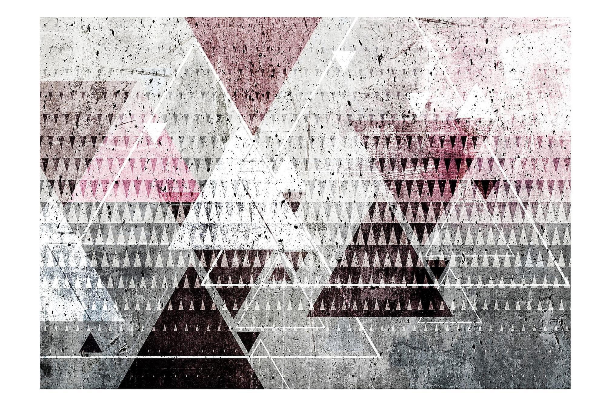 FOTOTAPET Triangles 250x175