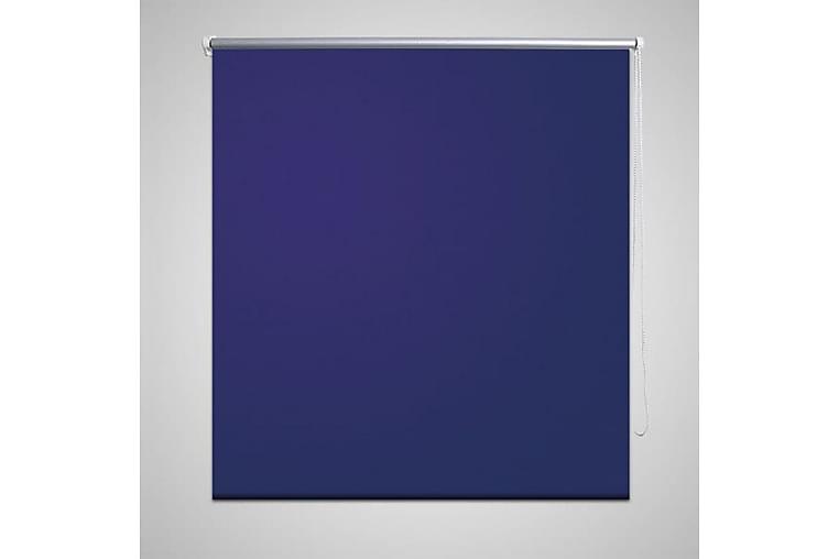 Rullgardin för mörkläggning 140x175 cm marinblå - Blå - Möbler & Inredning - Inredning - Gardiner & gardinupphängning