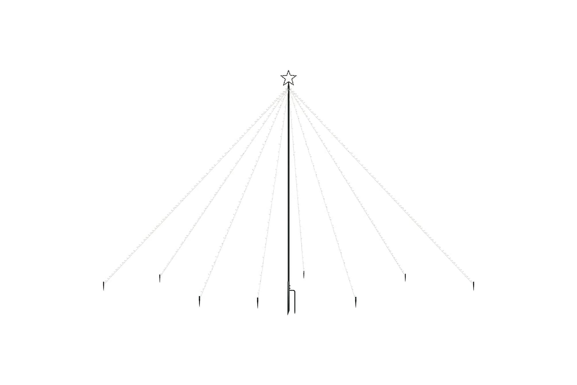 Julgran LED inomhus/utomhus 576 lysdioder 3,6 m, Julpynt & juldekoration