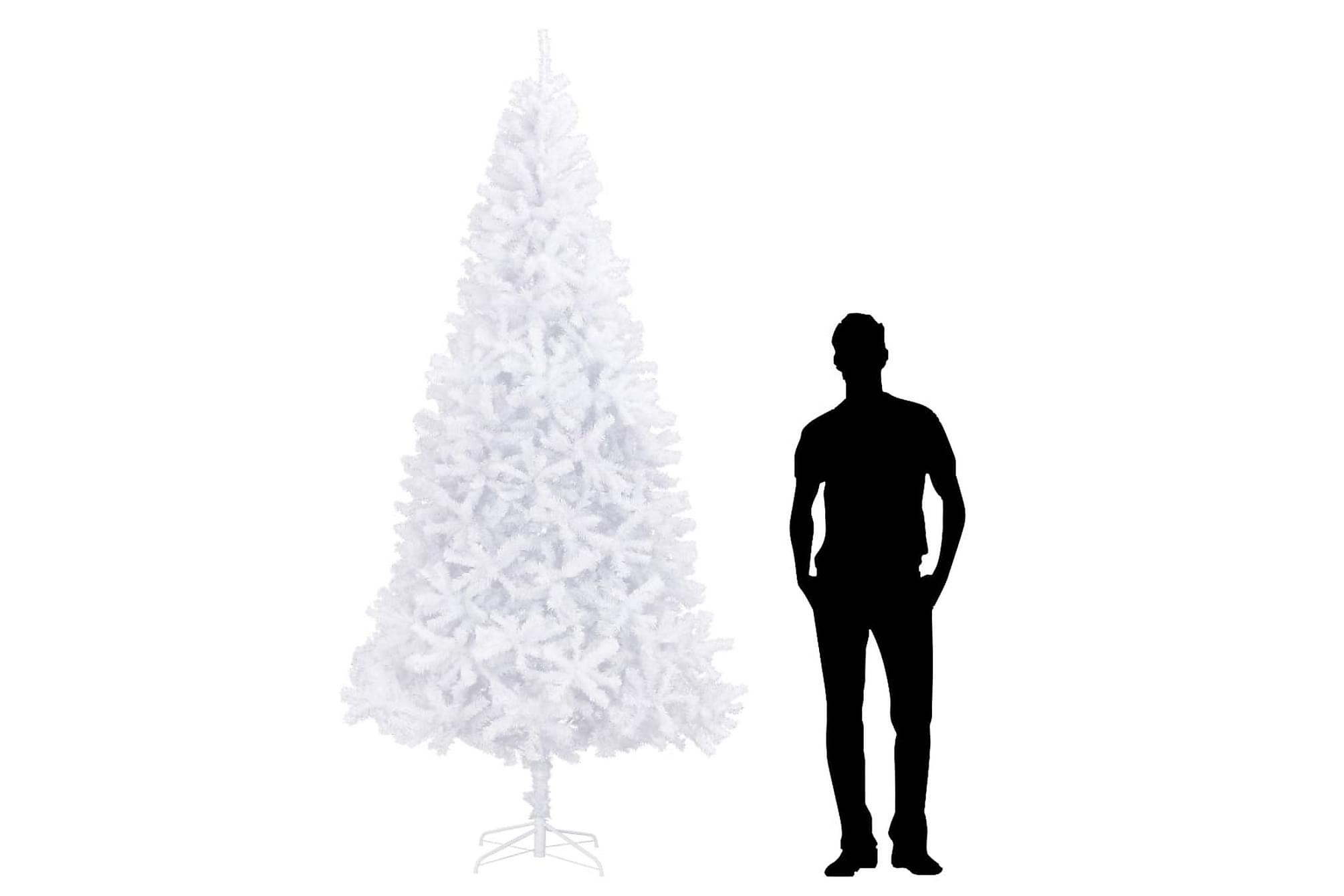 Plastgran 300 cm vit